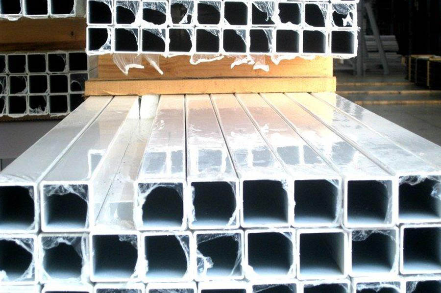 Barra quadra zincata sendzimir per tende da sole