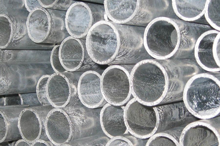 Tubi saldati carpenteria neri e zincati